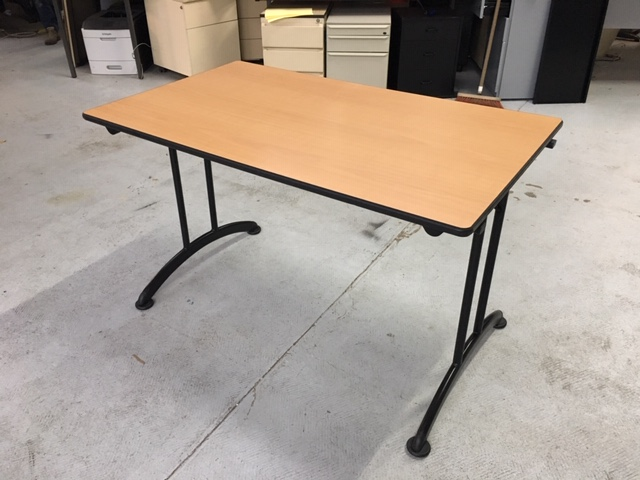 Table pliante poirier 120 70