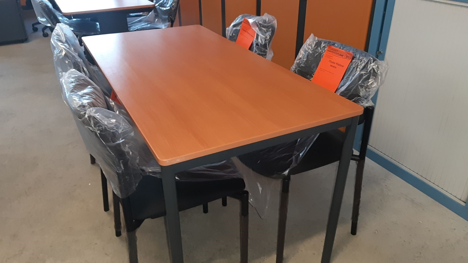 Table polyvalente finition merisier 140x70_product
